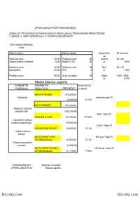 PROFITNA MARZA-Vezbe-Trgovinski menadzment-Ekonomski fakultet