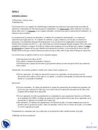 Soporte Lógico - Apuntes - Metodología Y Tecnología De La Programación