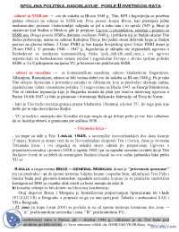 Spoljna politika YU posle II Svetskog rata-Beleska-Istorija Jugoslavije-Filozofski fakultet