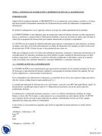 Sistemas De Numeración Y Representación De La Información- Apuntes - Sistemas Informáticos Monousuario Y Multiusuario