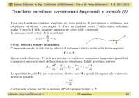 Traiettorie curvilinee: accelerazioni tangenziale e normale - Lezione 03 di Fisica Generale I