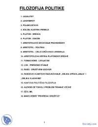 Filozofija politike skripta 125 STR-Skripta-Filozofija politike_Part1