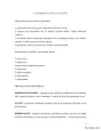 Sociologija drustvenih devijacija - kriminalitet-Skripta-Sociologija-Filozofski