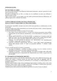 Appunti di Teoria Sociale, Testo consigliato: La teoria sociologica contemporanea - P. Baert , F.C.Da Silva