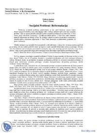 M.Spektor-Dz.Kicuce,Socijalni Problemi Re-formulacija-Skripta-Metodologija Etnologije i Antropologije