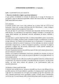 Riassunti lezioni di Biogiuridica . Rif: Introduzione al biodiritto, Casonato