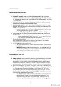 The Pre-Colonial Period (until 1620)- 1-Skripta-American literature 3-Engleski jezik i knjizevnost