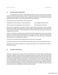 American Realism and Naturalism - 3-Skripta-American literature 3-Engleski jezik i knjizevnost