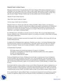 Elizabeth Tudor - La Reina Virgen - Apuntes - Historia Universal