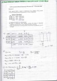 Esercitazione di Statistica - 1 prova parziale di Novembre 2010 - Metodi Statistici Per L'impresa