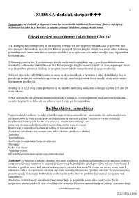 SUDSKA dodatak skripti-Skripta-Sudska medicina-Medicina