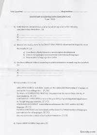 Pismeni ispit-Ispit-Kontrastivna analiza 4-Engleski jezik i knjizevnost (1), Ispiti' predlog Morfologija i sintaksa