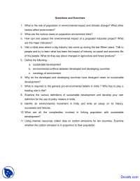 Environmental Beliefs - Cultural Studies - Quiz