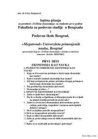 Ispitna pitanja-Ispit-Trzisna ekonomija-Menadzment