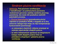 Sindrom plucne rarifikacije-slajdovi-pulmologija-medicina