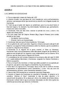 El Derecho en la historia de España (Resumen, temas 1-18)