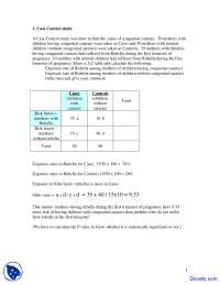 Congenital Cataract - Community Medicine - Study Notes