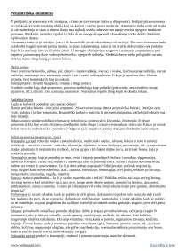 Pedijatrijska anamneza i status-Skripta-Pedijatrija-Medicina, Skripte' predlog Pedijatrija