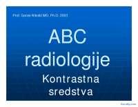 Kontrastna sredstva u radiologiji-Slajdovi-Radiologija-Medicina