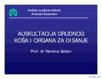 Auskultacija grudnog kosa i organa za disanje-Slajdovi-Pulmologija-Medicina
