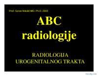 Radiologija urogenitalnog trakta-Slajdovi-Radiologija-Medicina
