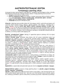 Gastrointestalni sistem-Skripta-Gastroenerologija-Medicina