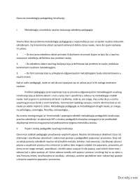 Metodologija-Skripta-Osnovne metodologije pedagoskog istrazivanja-Pedagogija
