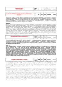 Il budgeting - Appunti di Controllo di Gestione