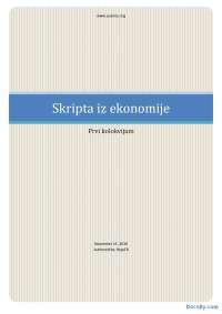 Uvod u ekonomiju-Skripta-Ekonomija-Fakultet organizacionih nauka001
