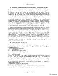 Organizacija-Skripta-Osnovi organizacije1-Fakultet organizacionih nauka