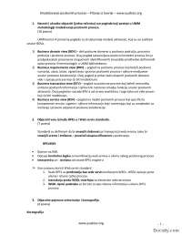 Pitanja iz teorije-Ispit-Modelovanje poslovnih procesa-Informacioni sistemi i tehnologije 3