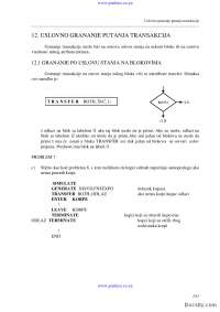 Uslovno granjanje-Skripta-Simulacija i simulacioni sistemi-Informacioni sistemi i tehnolgija 4