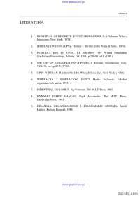Literatura-Skripta-Simulacija i simulacioni sistemi-Informacioni sistemi i tehnolgija 4
