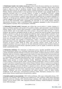 Modeliranje i vrste modela-Skripta-Simulacija i simulacioni sistemi-Informacioni sistemi i tehnolgija 4