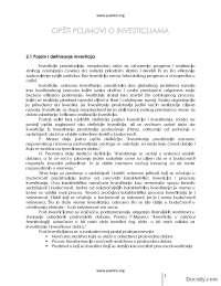 Opsti pojmovi o investicijama-Skripta-Upravljanje investicijama-Menadzment 3
