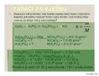 Zadaci za vezbu-Slajdovi-Opsta hemija sa stehiometrijom-Farmacija