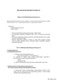 Zeleznicko_prometno_pravo-Skripta-Promet i infrastruktura-Saobracajni fakultet
