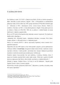Jure Kastelan-Seminarski rad-Knjizevnost