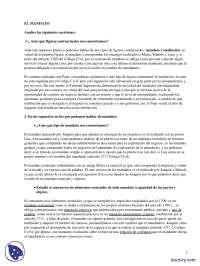 El Mandato - Prácticas - Derecho Civil - Derecho