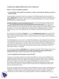 El Arrendamiento - Prácticas - Derecho Civil - Derecho
