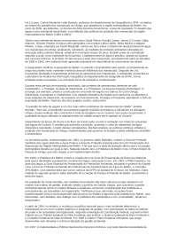estudo da questão dos mananciais do Utinga, Notas de estudo de Engenharia Florestal