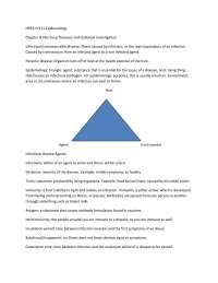 HPER-H 311 Epidemiology Chapter 8