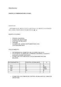 Compresión del acero - Prácticas - Teoría de Estructuras - Ingeniería de Caminos, Canales y Puertos