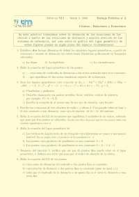 Relaciones y Ecuaciones - Prácticas - Ingeniería de Caminos, Canales y Puertos