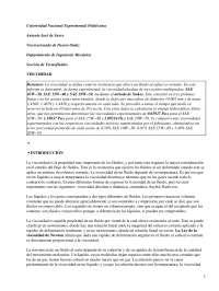 Viscosidad - Prácticas - Comportamiento Mecánico de los Materiales - Ingeniería de Materiales