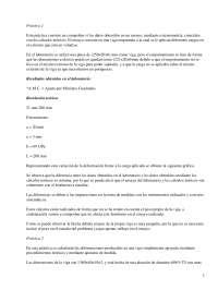 Resistencia de materiales - Prácticas - Teoría de Estructuras - Ingeniería aeronáutica