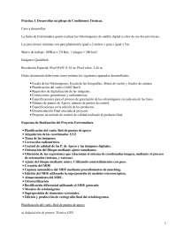 Condiciones Técnicas - Prácticas - Informática Aplicada - Ingeniería en Geodesia y Cartografía