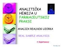 Analiza realnih uzoraka-Slajdovi-Analiticka hemija u farmaceutskoj praksi-Farmacija (2)