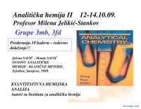 Kvalitativna hemijska analiza-Slajdovi-Analiticka hemija II-Farmacija