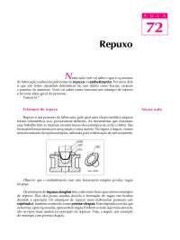 Repuxo - Conformação Mecânica, Notas de estudo de Engenharia Mecânica